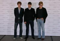 Andrew Garfield, Tom Cruise and Robert Redford at the photocall of