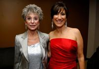Rita Moreno and Leslie Litt-Resnick at the Lili Claire Foundation 10th annual benefit dinner and auction.