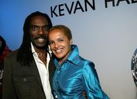 Kevan Hall and Shari Belafonte at the Kevan Hall Spring 2008 Fashion Show during the Mercedes Benz Fashion Week.