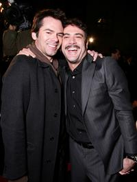 Billy Burke and Jeffrey Dean Morgan at the premiere of