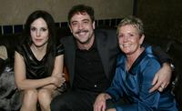 Mary Louise Parker, Jeffrey Dean Morgan and Sandy Morgan at the after party of the premiere of