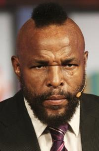 Mr. T at the 2006 Summer Television Critics Association Press Tour.