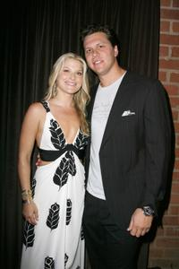 Ali Larter and Hayes MacArthur at the NBC's Countdown to the premiere of