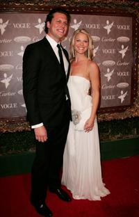 Hayes MacArthur and Ali Larter at the