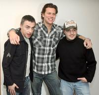 Miles Dougal, Hayes MacArthur and Adam Rifkin at the premiere of
