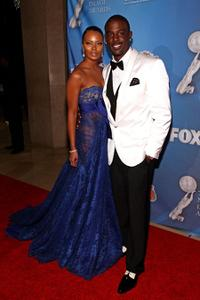 Lance Gross and Guest at the 40th NAACP Image Awards.