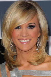 Carrie Underwood at the 52nd Annual Grammy Awards.
