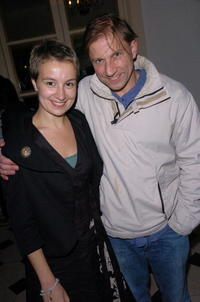 Anamaria Marinca and Guest at the BFI 51st London Film Festival.