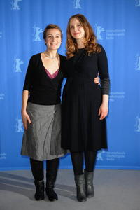 Anamaria Marinca and Julie Delpy at the photocall of