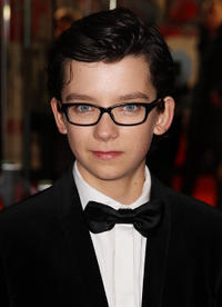 Asa Butterfield at the Royal Film Performance 2011 of