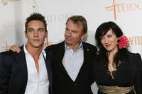 Sam Neill, Jonathan Rhys Meyers and actress Maria Doyle Kennedy at the premiere screening of Showtime's
