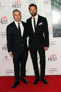 Producer Iain Canning and producer Emile Sherman at the California premiere of