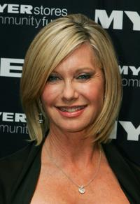 Olivia Newton-John at the 2010 Precious Metal Ball.