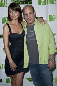 Nichole Hiltz and Paul Ben-Victor at the High Times Magazine's 8th Annual Stony Awards.