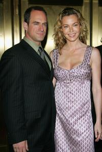 Connie Nielsen and Chris Meloni at the NBC Primetime Preview 2006-2007 at Radio City Music Hall.