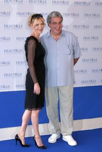 Connie Nielsen and Harold Ramis at the photocall of