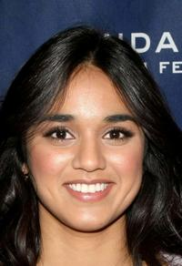 Summer Bishil at the premiere of