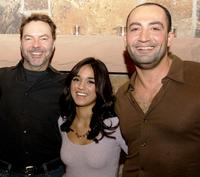 Alan Ball, Summer Bishil and Peter Macdissi at the party of