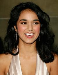 Summer Bishil at the world premiere of