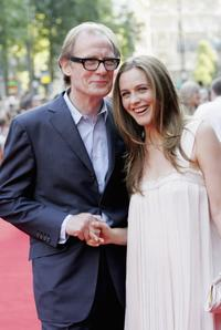 Bill Nighy and Alicia Silverstone at the UK premiere of