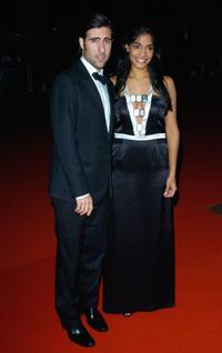 Jason Schwartzman and Amara Karan at the premiere of