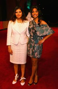 Director Shivani Pandya and Amara Karan at the premiere of