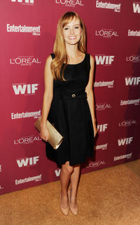 Ahna O'Reilly at the 2011 Entertainment Weekly and Women In Film Pre-Emmy party in California.