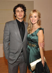 James Franco and Ahna O'Reilly at the MOCA NEW 30th Anniversary Gala in California.