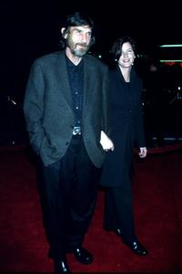 Derrick O'Connor and Guest at the Los Angeles premiere of