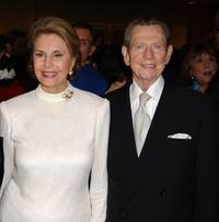 Cyd Charisse and Donald O'Connor at the 50th Anniversary screening of