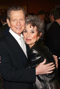 Donald O'Connor and Rita Moreno at the 50th Anniversary screening of