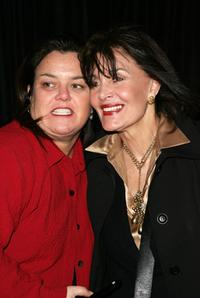 Rosie O'Donnell and Linda Dano at the New York opening night of