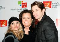 Rosie O'Donnell, Orfeh and Andy Karl at the 10th anniversary celebration of Rosie's For All Kids Foundation.