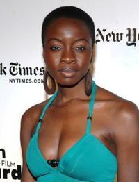 Danai Gurira at the 18th Annual Gotham Independent Film Awards.