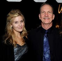Maggie Grace and Michael O'Neill at the opening night screening of