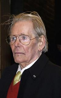 Peter O'Toole at the premiere of