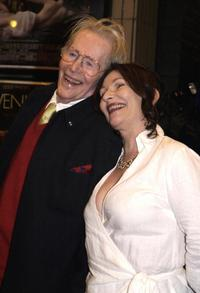 Peter O'Toole and his daughter Kateat the premiere of