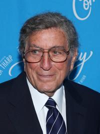 Tony Bennett at the Broadway opening of