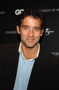 Clive Owen at a N.Y. screening of