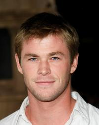 Chris Hemsworth at the Los Angeles premiere of