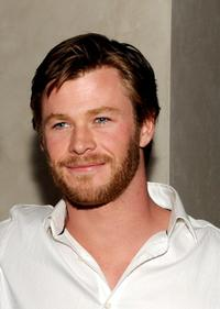 Chris Hemsworth at the after party of the premiere of
