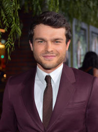Alden Ehrenreich at the California premiere of