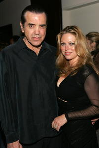 Chazz Palminteri and his wife Gianna Ranaudo at the special screening of