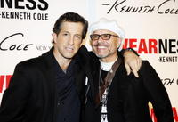 Kenneth Cole and Joe Pantoliano at the launch of