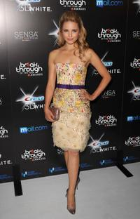 Dianna Agron at the Breakthrough Of The Year Awards.
