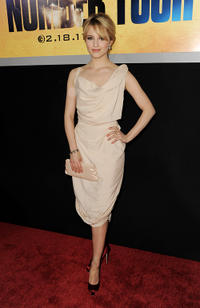 Dianna Agron at the California premiere of