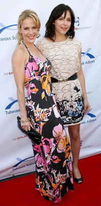 Julie Benz and Guest at the Seventh Annual Comedy For A Cure benefit.