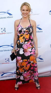 Julie Benz at the Seventh Annual Comedy For A Cure benefit.