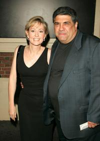 Vincent Pastore and date at the opening night of