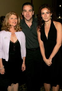 Judith Ivey, Mandy Patinkin and Laura Benanti at the Roundabout Theater 2005 Spring Gala.